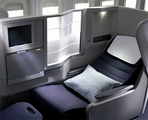 plane seat bed