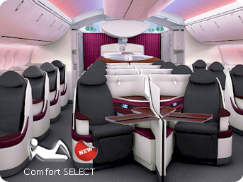 Use Comfort Select to compare Airline Seat standards