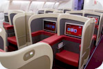 Kingfisher Airlines Business class seat